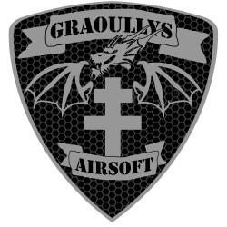 Patch   Graoullys 2.  noir
